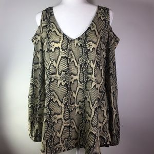 Show Me Your MuMU Peek a boo Python Press Tunic S